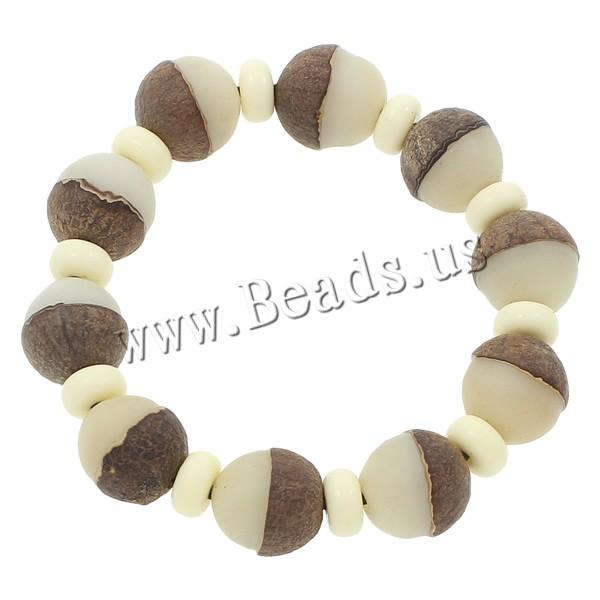 Buy Wrist Mala Bodhi Root Ox Bone Oval Buddhist jewelry & two tone 14x15mm Length:Approx 7.5 Inch 5Strands/Bag 10PCs/Strand Sold Bag