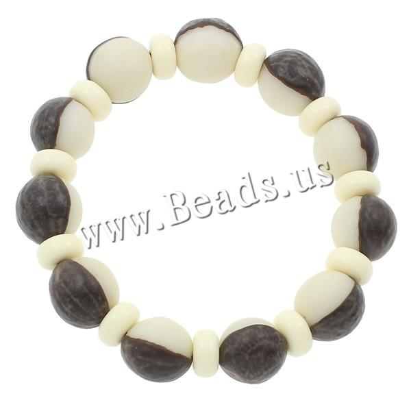 Buy Wrist Mala Bodhi Root Ox Bone Round Buddhist jewelry & two tone 13mm Length:Approx 7.5 Inch 5Strands/Bag 11PCs/Strand Sold Bag
