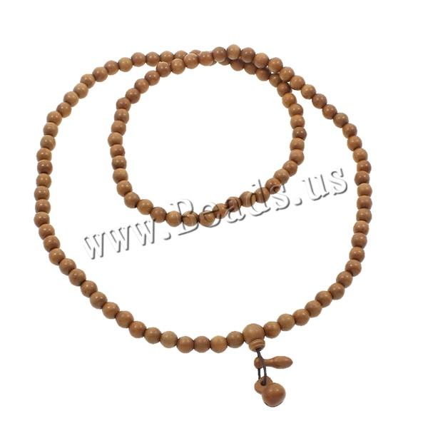 Buy 108 Mala Beads Lightning Jujube nylon elastic cord Round Buddhist jewelry coffee color 8mm 11x14.5mm 6x18mm Length:Approx 30 Inch 5Strands/Bag 108PCs/Strand Sold Bag