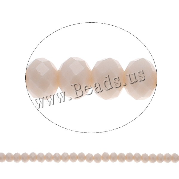 Buy Imitation CRYSTALLIZED™ Element Crystal Beads Rondelle faceted & imitation CRYSTALLIZED™ element crystal Apricot 8x6mm Hole:Approx 1mm Length:Approx 17 Inch 10Strands/Bag Sold Bag