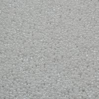 Ceylon Glas-Rocailles, rund, weiß, 2x1.9mm, Bohrung:ca. 1mm, ca. 30000PCs/Tasche, verkauft von Tasche