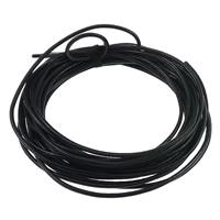 Rindsleder Schnur, Kuhhaut, schwarz, 2mm, 100WerftenHof/Tasche, verkauft von Tasche