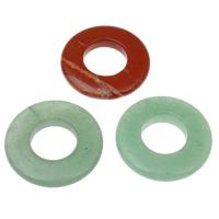 Mischedelstein Perlen, Edelstein, natürlich, gemischt, 30x6mm, Bohrung:ca. 14mm, 10PCs/Tasche, verkauft von Tasche