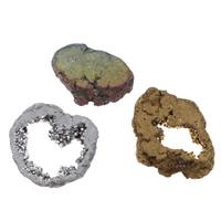 Druzy Beads, Eisquarz Achat, natürlich, druzy Stil & verschiedene Größen vorhanden & kein Loch, keine, 10PCs/Tasche, verkauft von Tasche