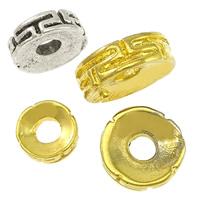 Messing Zwischenperlen, plattiert, verschiedene Größen vorhanden, keine, frei von Nickel, Blei & Kadmium, verkauft von Menge
