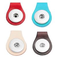 Chunk-Button-Weissgold, Zinklegierung, Platinfarbe platiniert, keine, frei von Nickel, Blei & Kadmium, 35x25mm, Bohrung:ca. 6mm, Innendurchmesser:ca. 6mm, verkauft von PC