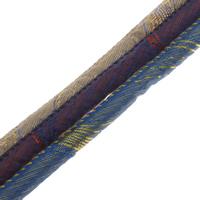 Polyester Schnur, mit mit Tuch-Kern, keine, 6x7mm, 50m/Tasche, verkauft von Tasche