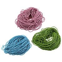Lederband, PU Leder, gewebt, keine, 3mm, 200m/Menge, verkauft von Menge