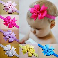 Satinband Schweißband, Blume, elastisch & für Kinder, keine, Länge:ca. 14 ZollInch, 24SträngeStrang/Tasche, verkauft von Tasche