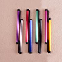 Aluminium Stift, mit Silikon, plattiert, gemischte Farben, frei von Nickel, Blei & Kadmium, 100x7mm, 100PCs/Menge, verkauft von Menge