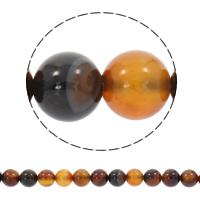 Natürliche traumhafte Achat Perlen, Traumhafter Achat, rund, synthetisch, verschiedene Größen vorhanden, Bohrung:ca. 1mm, verkauft per ca. 15 ZollInch Strang