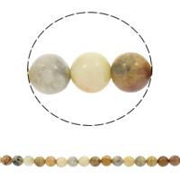 Natürliche verrückte Achat Perlen, Verrückter Achat, rund, synthetisch, verschiedene Größen vorhanden, Bohrung:ca. 1mm, verkauft per ca. 15 ZollInch Strang