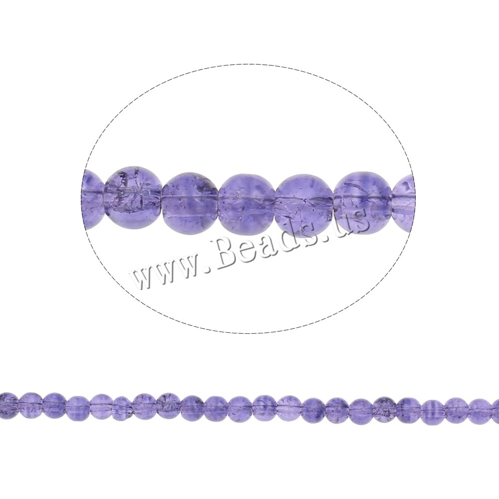 Buy Crackle Glass Beads Round light purple 6mm Hole:Approx 1mm Length:Approx 31.5 Inch 10Strands/Bag Sold Bag