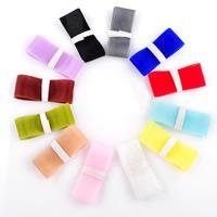 Chiffon Band, gemischte Farben, 25mm, 100SträngeStrang/Tasche, 1m/Strang, verkauft von Tasche