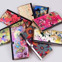 Seide Geldtasche, mit Eisen, gemischt, 190x100mm, 10PCs/Tasche, verkauft von Tasche
