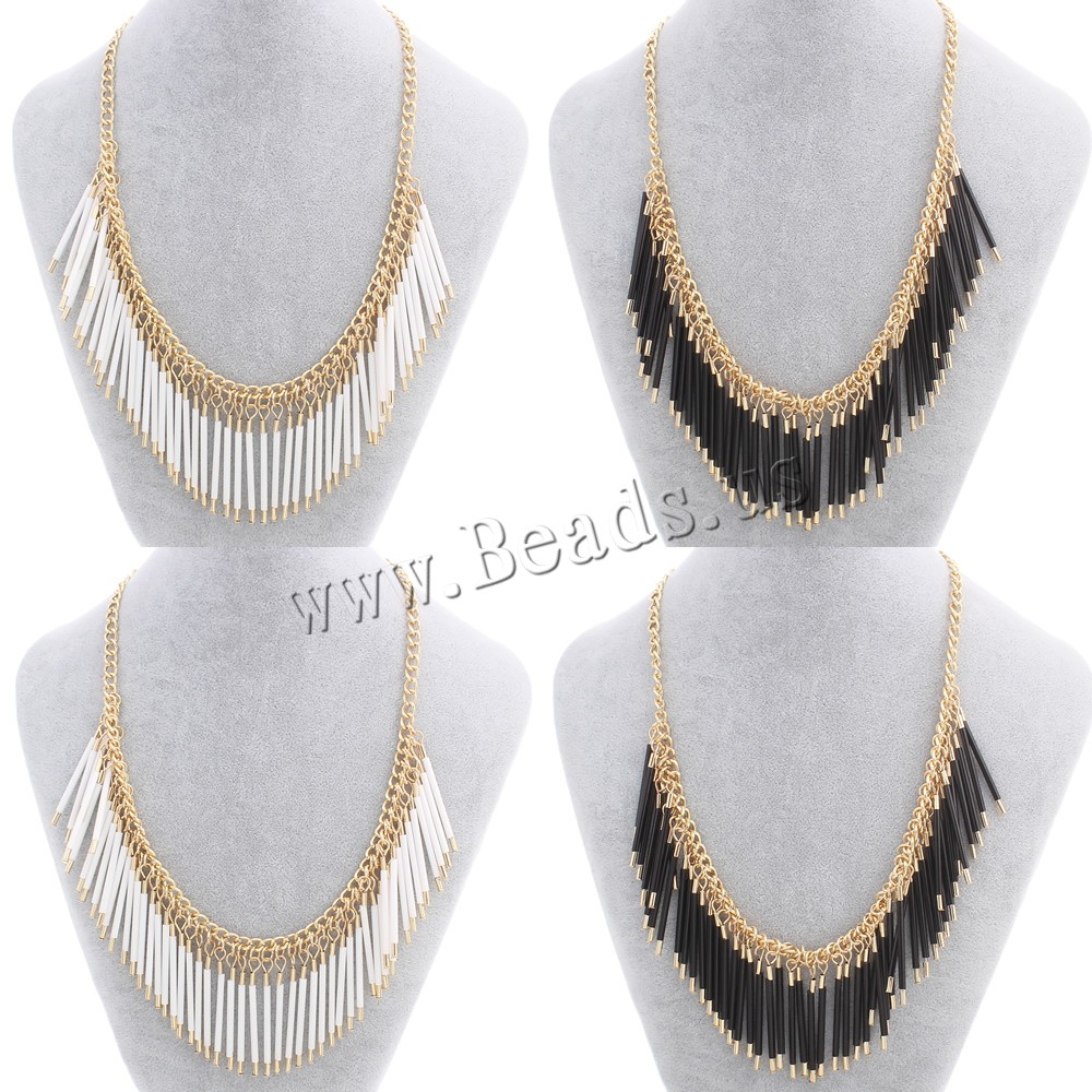 Buy Glass Seed Beads Necklace Iron Glass Seed Beads zinc alloy lobster clasp 6.5cm extender chain gold color plated twist oval chain colors choice nickel lead & cadmium free 2x46mm Sold Per Approx 17.3 Inch Strand