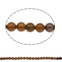 Natürliche Drachen Venen Achat Perlen, Drachenvenen Achat, rund, verschiedene Größen vorhanden, Bohrung:ca. 1mm, Länge:ca. 15 ZollInch, verkauft von Tasche