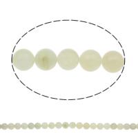 Neuer Berg Jade Perle, rund, natürlich, verschiedene Größen vorhanden, Bohrung:ca. 1mm, Länge:ca. 15 ZollInch, verkauft von Tasche