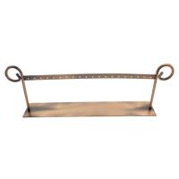 Eisen Ohrringständer, antike Kupferfarbe plattiert, frei von Nickel, Blei & Kadmium, 313x102x51mm, verkauft von PC