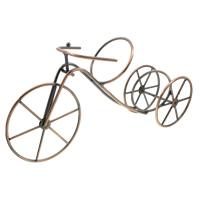 Eisen Weinregal, Fahrrad, antike Kupferfarbe plattiert, frei von Nickel, Blei & Kadmium, 387x188x88mm, verkauft von PC