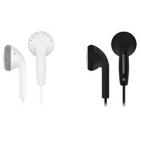 TPE beschalteter Ohrhörer, mit Kunststoff & Messing, Platinfarbe platiniert, für iPhone SAMSUNG & für Mobiltelefon, keine, 3.5mm,1300mm, 5SträngeStrang/Menge, verkauft von Menge