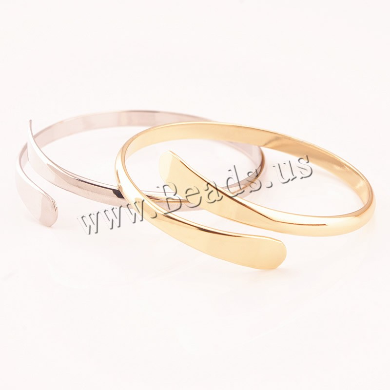 Buy Brass Cuff Bangle plated colors choice nickel lead & cadmium free 57mm Inner Diameter:Approx 57mm Length:Approx 7.5 Inch 3PCs/Bag Sold Bag