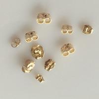 gold-gefüllt Spannung Ohrmutter, 14K gefüllt & verschiedene Größen vorhanden, frei von Nickel, Blei & Kadmium, verkauft von Paar