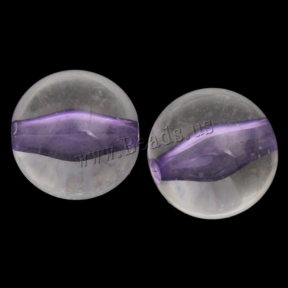 Buy Bead Bead Acrylic Beads Round purple 16mm Hole:Approx 3mm 2Bags/Lot Approx 150PCs/Bag Sold Lot