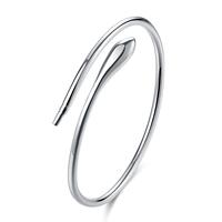 comeon® Schmuck Armband, Messing, versilbert, frei von Nickel, Blei & Kadmium, 3mm, Länge:ca. 7 ZollInch, verkauft von PC