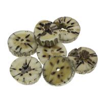 Buddhistische Perlen, Bodhi, originale Farbe, 28x8mm-32x8mm, Bohrung:ca. 2.5mm, 100PCs/Tasche, verkauft von Tasche