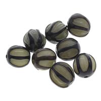 Buddhistische Perlen, Bodhi, oval, originale Farbe, 13-16mm, Bohrung:ca. 1.5mm, 100PCs/Tasche, verkauft von Tasche
