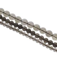 Natürliche Rauchquarz Perlen, rund, verschiedene Größen vorhanden, Grad AAA, Bohrung:ca. 1.5mm, verkauft per ca. 15 ZollInch Strang