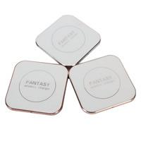 Zinklegierung Drahtlose Handy-Ladegerät, mit Harz, Quadrat, plattiert, für SAMSUNG / iPhone und Android / IOS, keine, 76.50x11mm, verkauft von PC