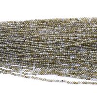 Labradorit Perlen, rund, natürlich, verschiedene Größen vorhanden, Bohrung:ca. 0.5mm, Länge:ca. 16.5 ZollInch, verkauft von Menge