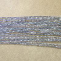 Natürliche graue Achat Perlen, Grauer Achat, rund, verschiedene Größen vorhanden & facettierte, Länge:ca. 16 ZollInch, verkauft von Menge
