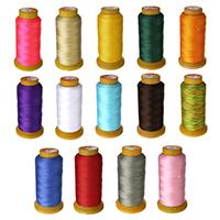 Sewing Thread, Polyester, mit Kunststoffspule, 3 Fach Garn, keine, 0.2-0.3mm, 750m/PC, verkauft von PC