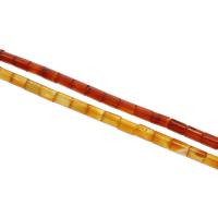 Natürliche Crackle Achat Perlen, Zylinder, verschiedenen Materialien für die Wahl, 12x8mm, ca. 33PCs/Strang, verkauft per ca. 15.5 ZollInch Strang