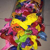 LatexMilchsaft Luftballon, gemischt, 12cm, 100PCs/Tasche, verkauft von Tasche