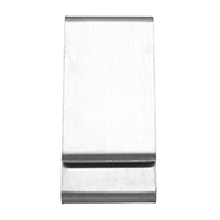 Mode-Geld-Clip, Edelstahl, originale Farbe, 30x65x8mm, verkauft von PC