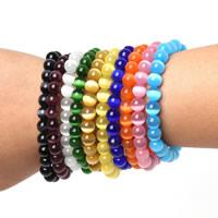 Cats Eye Armbänder, Katzenauge, rund, verschiedene Größen vorhanden, keine, verkauft per ca. 7.4 ZollInch Strang