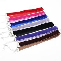 Mode-Halskette, samt, mit Zinklegierung, mit Verlängerungskettchen von 2.7 lnch, Platinfarbe platiniert, keine, frei von Nickel, Blei & Kadmium, 15mm, verkauft per ca. 12.2 ZollInch Strang