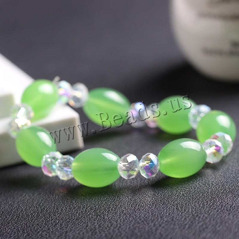 Crystal Bracelets Drum faceted 12x16mm Length:Approx 7 Inch 3Strands/Bag Sold Bag