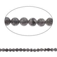 Picasso Jaspis Perle, rund, 8mm, Bohrung:ca. 1mm, ca. 47PCs/Strang, verkauft per ca. 15 ZollInch Strang