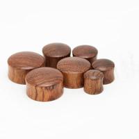 Padauk Piercing Durchstich, Rondell, verschiedene Größen vorhanden, 2PCs/Tasche, verkauft von Tasche