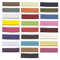 PU Leder Schnur, mit Kunststoffspule & Baumwollsamt, keine, 2.50mm, 100HofHof/PC, verkauft von PC