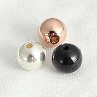 Edelstahl-Beads, Edelstahl, Trommel, plattiert, verschiedene Größen vorhanden, keine, verkauft von Menge