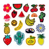 Nähen-auf Patch, Stoff, Stickerei, verschiedene Stile für Wahl, 30SetsSatz/Menge, 10PCs/setzen, verkauft von Menge