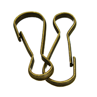 Iron Key Schließe, Eisen, antike Bronzefarbe plattiert, 11x29x3mm, 200PCs/Menge, verkauft von Menge