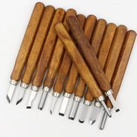 Holz Schnitzender Messer-Satz, mit Ferronickel, originale Farbe, 140mm, verkauft von setzen