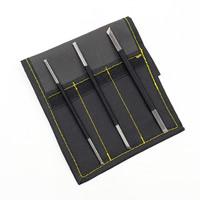 Ferronickel Schnitzender Messer-Satz, mit Gewachste Hanfschnur & Oxford, 135mm, verkauft von setzen